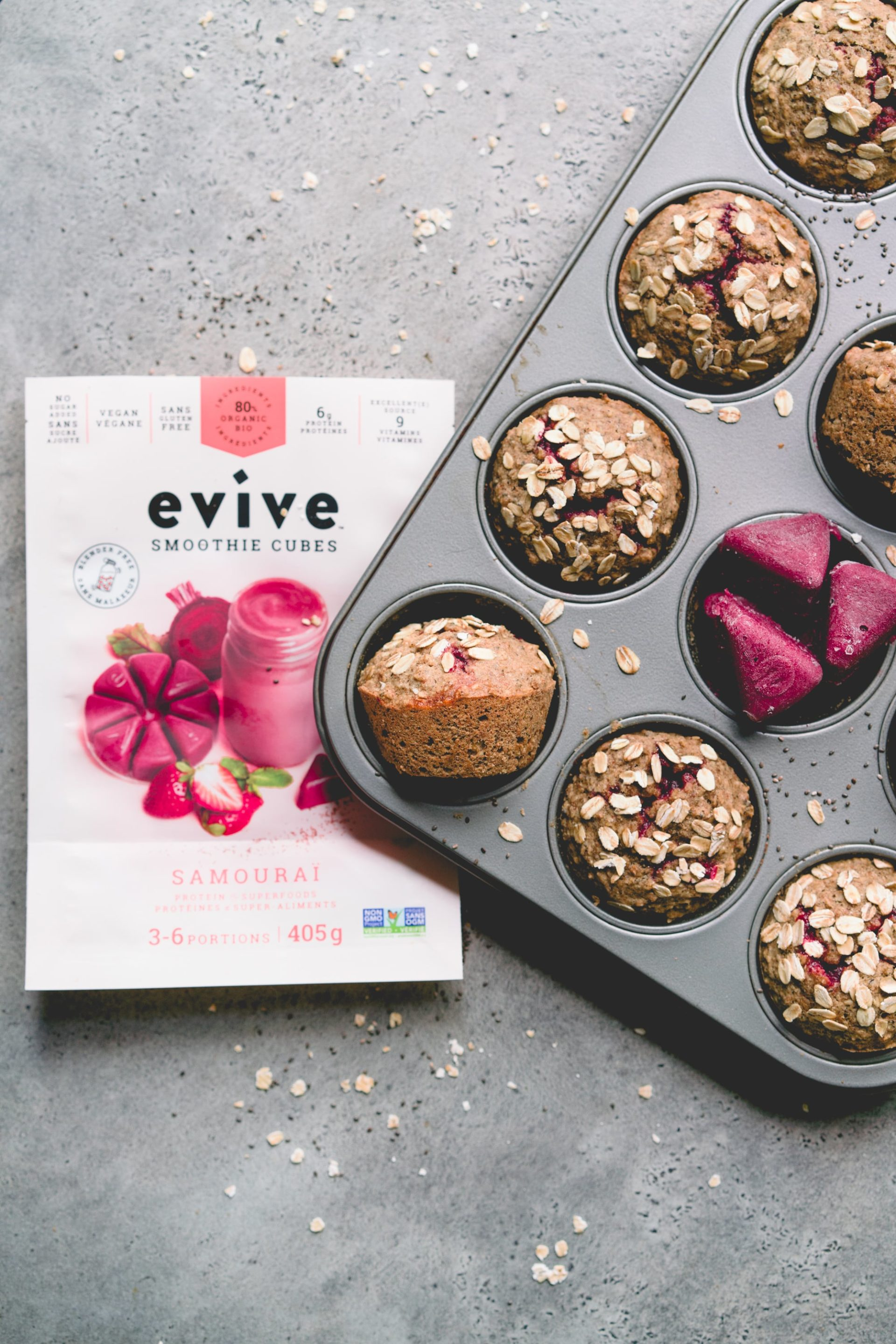 Evive muffins