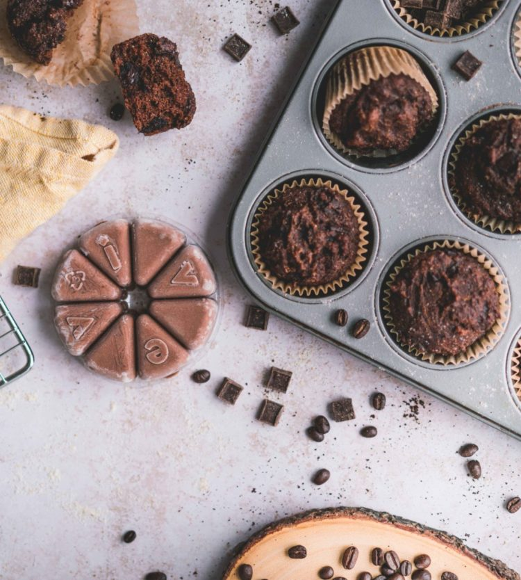 Muffins Délectable au Choco-Moka