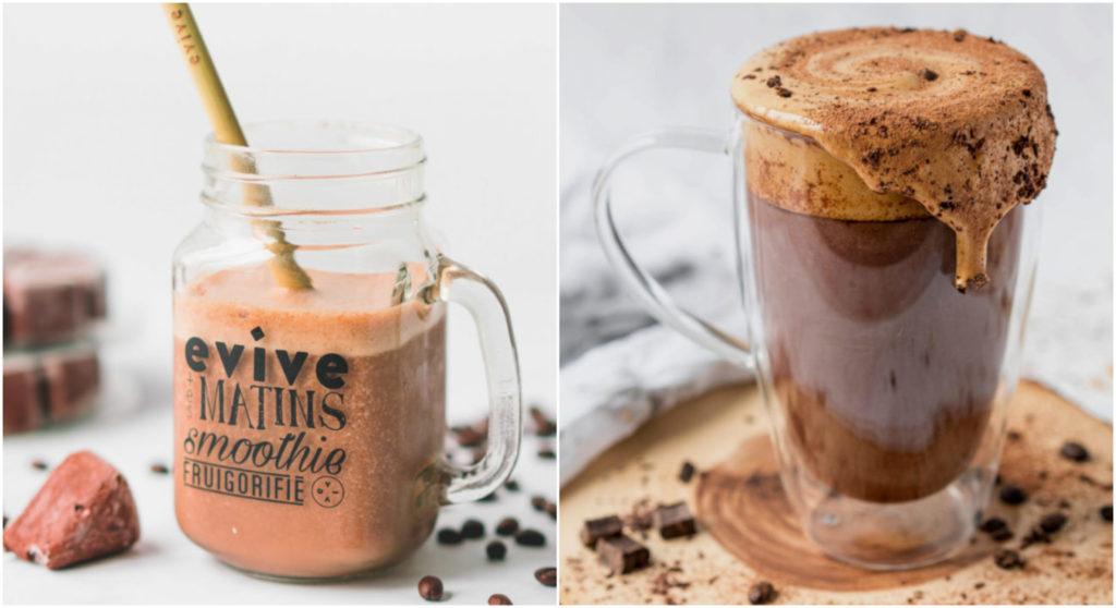 evive, evive smoothie, coffe, dalgona coffee