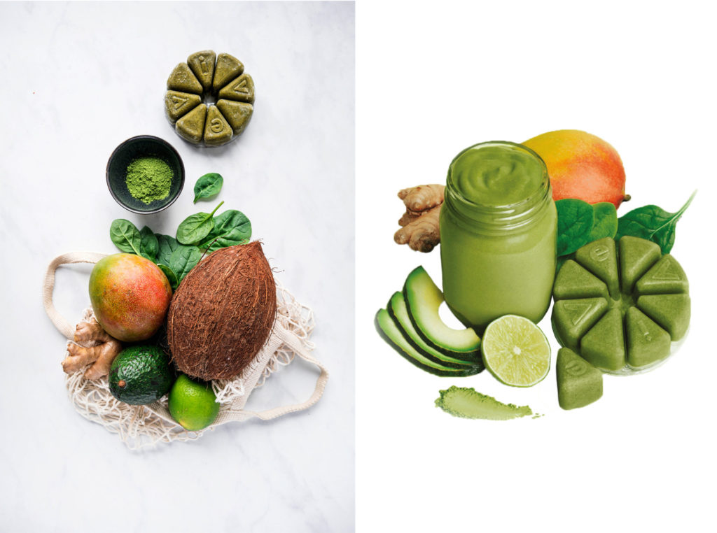 evive, evive smoothie, veggies, vegetables, cauliflower, kale, beets, spinach, vegan, plant-based